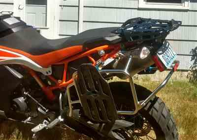 Erin S. verified customer review of KTM Case Carrier 790 Adventure/R 2019