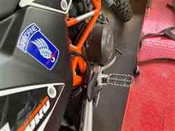 Juan P. verified customer review of KTM Rally Style Extended Footpeg Set 60103940000