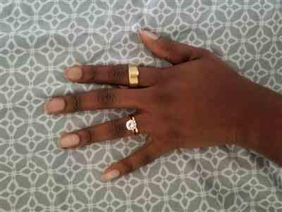 Toluwalase Amori verified customer review of The Titan Ring - Gold