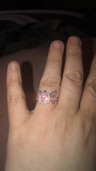 Deedra Coffey  verified customer review of The Halo - Pink Sapphire