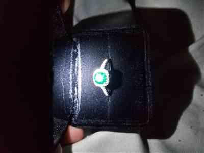 Maryah W. verified customer review of The Halo - Emerald