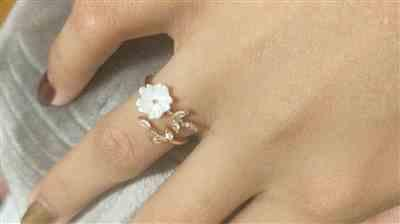 Sunflower Jewels  Pearl Flower Ring Review