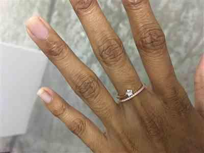 Ranjithaa Sugumar verified customer review of Stargaze ring