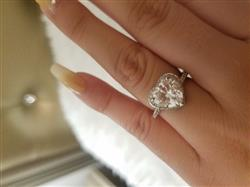 Laura S. verified customer review of Heart Promise Ring