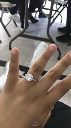 Oscar O. verified customer review of Cinderella Ring