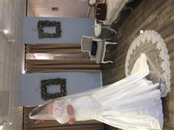 Brittany H. verified customer review of Cathedral French Chantilly Lace Wedding Veil | VG1064