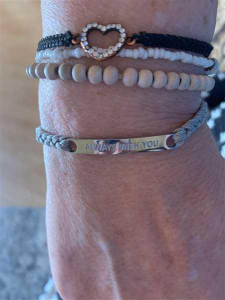 Tammy Lawson verified customer review of Always With You Bracelet