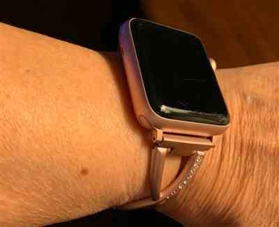 Marjorie Mayes verified customer review of Stainless Steel Cuff Watch Bands
