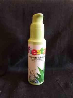 Anonymous verified customer review of Fiesta Lubricant Aloe Vera & Vitamin E - 100 mL