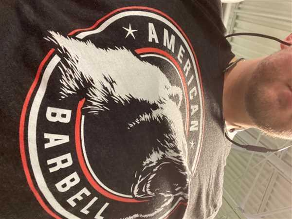 American Barbell  American Barbell California Grizzly Bear T-shirt Review