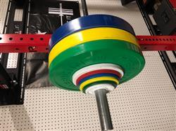 Lance M. verified customer review of Color KG Sport Bumper Plates
