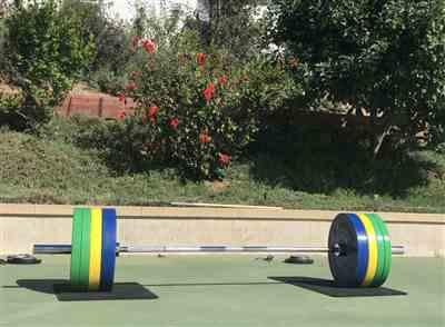 Andrew B. verified customer review of Color KG Sport Bumper Plates