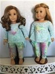Carol T. verified customer review of Twirly Tunic 18 Doll Clothes Pattern