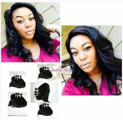 Zeebabe01 verified customer review of Brazilian Straight Virgin Human Hair Extensions (Jet Black)
