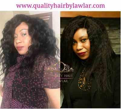 Chichi verified customer review of Mongolian Kinky Straight Human Hair Lace Front Wig
