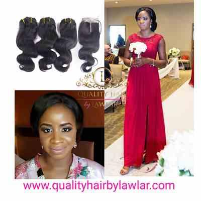 Fifi verified customer review of Brazilian Bodywave Human Hair 3pcs Bundle & Lace Closure Deal