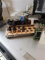 ryan h. verified customer review of Vpdam Wooden Base Atomiser Stand