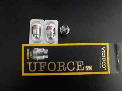 Jack K. verified customer review of Voopoo UFORCE Coils