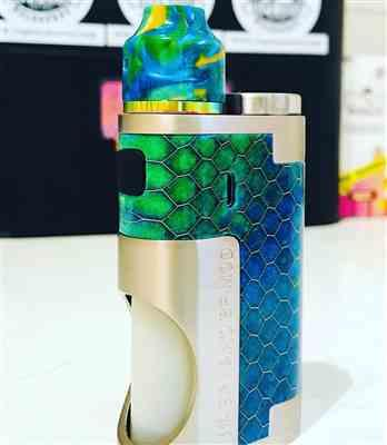 Amardea E. verified customer review of Oumier Wasp Nano Mech Squonk Kit