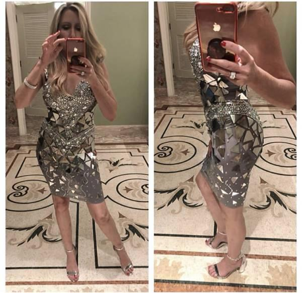 Ca verified customer review of Beautiful Entrance Mirror Diamante Dress (Rhinestones)