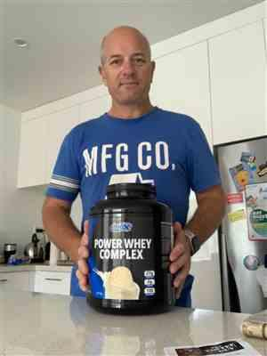 Peter H. verified customer review of #1 Best Seller BioX Power Whey Complex 5lb
