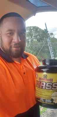 Francis M. verified customer review of Mammoth Mass Weight Gainer 5lb