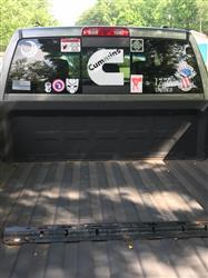 Kyle A. verified customer review of Moultrie Flag Decal