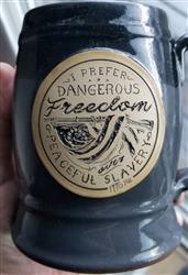 MB verified customer review of Dangerous Freedom Tankard