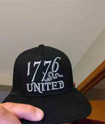 Jordan M. verified customer review of 1776 United® Logo Flexfit Don't Tread On Me Edition