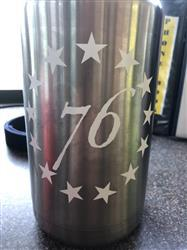 Stephen V. verified customer review of 13 Stars Decal