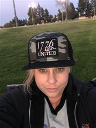 Rachel P. verified customer review of 1776 United® Camo Logo Patch Snapback