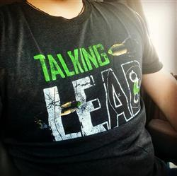 Austin W. verified customer review of Talking Lead Logo Tee