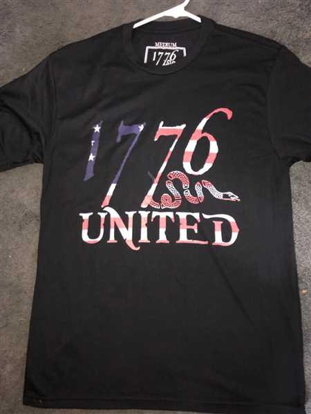 Mchael Wilkinson verified customer review of 1776 United® Logo Tee - Betsy Ross Edition (LIMITED)