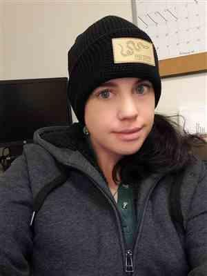 Jennifer Williams verified customer review of Snake Patch Waffle Beanie