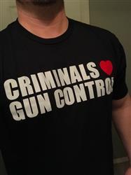Kevin O. verified customer review of Criminals Love Gun Control