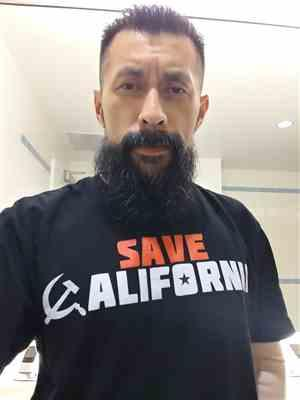 Carlos V. verified customer review of Save California - Black