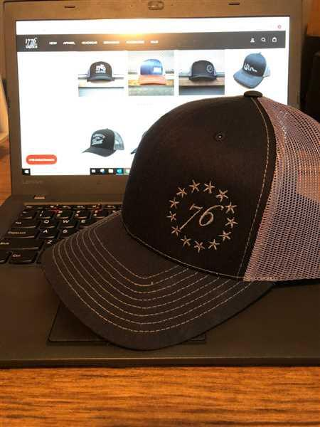 aaron harmon verified customer review of 13 Stars Logo Hat
