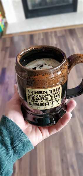 Sarge verified customer review of Fear The People Tankard