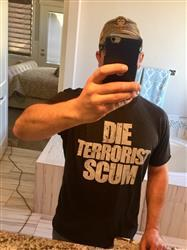 Bradley Y. verified customer review of Die Terrorist Scum