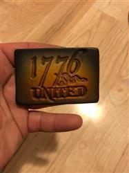 robbie c. verified customer review of 1776 United® Logo Leather Patch
