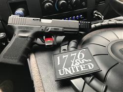 Garrett R. verified customer review of 1776 United®PVC Logo Patch - Glow In The Dark