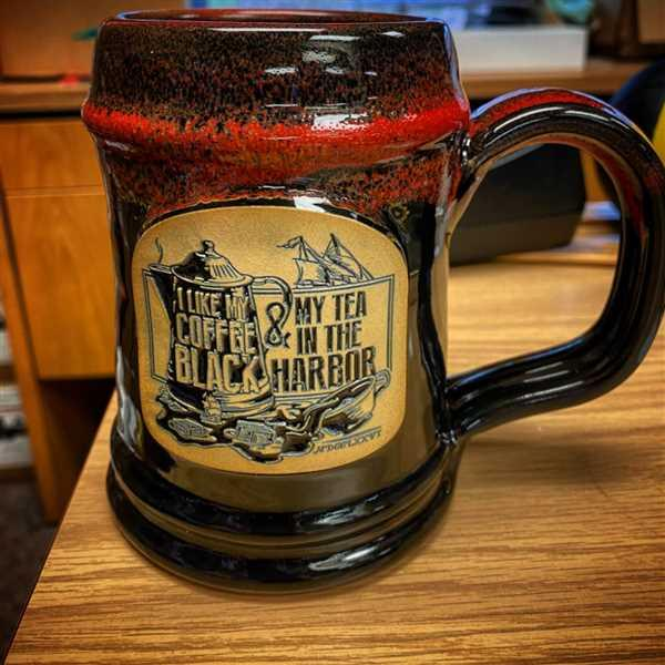 John Pappas verified customer review of Tea In The Harbor Tankard