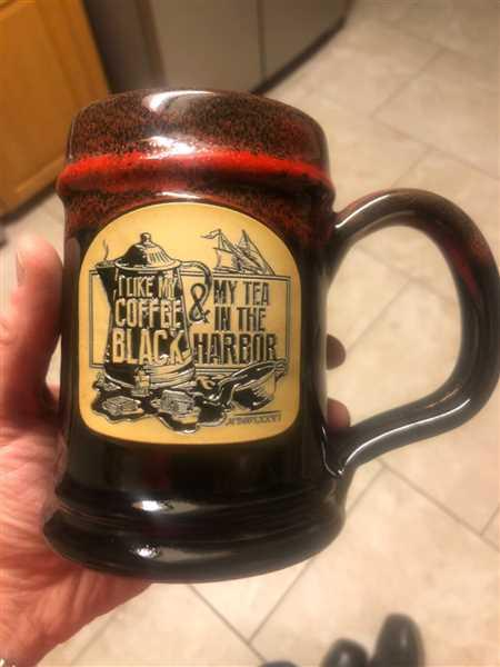 Roy D Moore verified customer review of Tea In The Harbor Tankard
