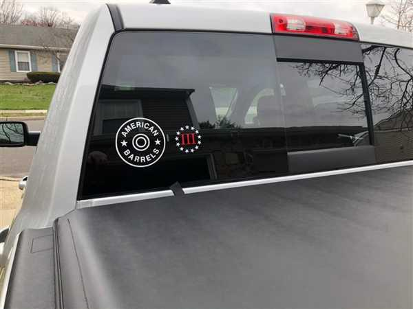 1776 United American Barrels Decal Review