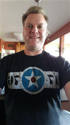 Hunter W. verified customer review of 1776 United® Badge Logo Tee