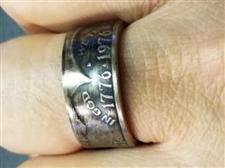 Michael B. verified customer review of 1776 United® Bicentennial Half Dollar Ring