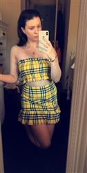 Brittany J. verified customer review of Mackenzie Skirt - Yellow Check