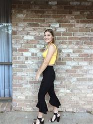 Bronte H. verified customer review of Ruby Top - Yellow