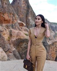 Laureta B. verified customer review of Phillipa Jumpsuit - Tan