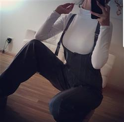 Ashley D. verified customer review of Maximum Overalls - Grey